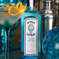 Product Photography: Bombay Sapphire concept branding